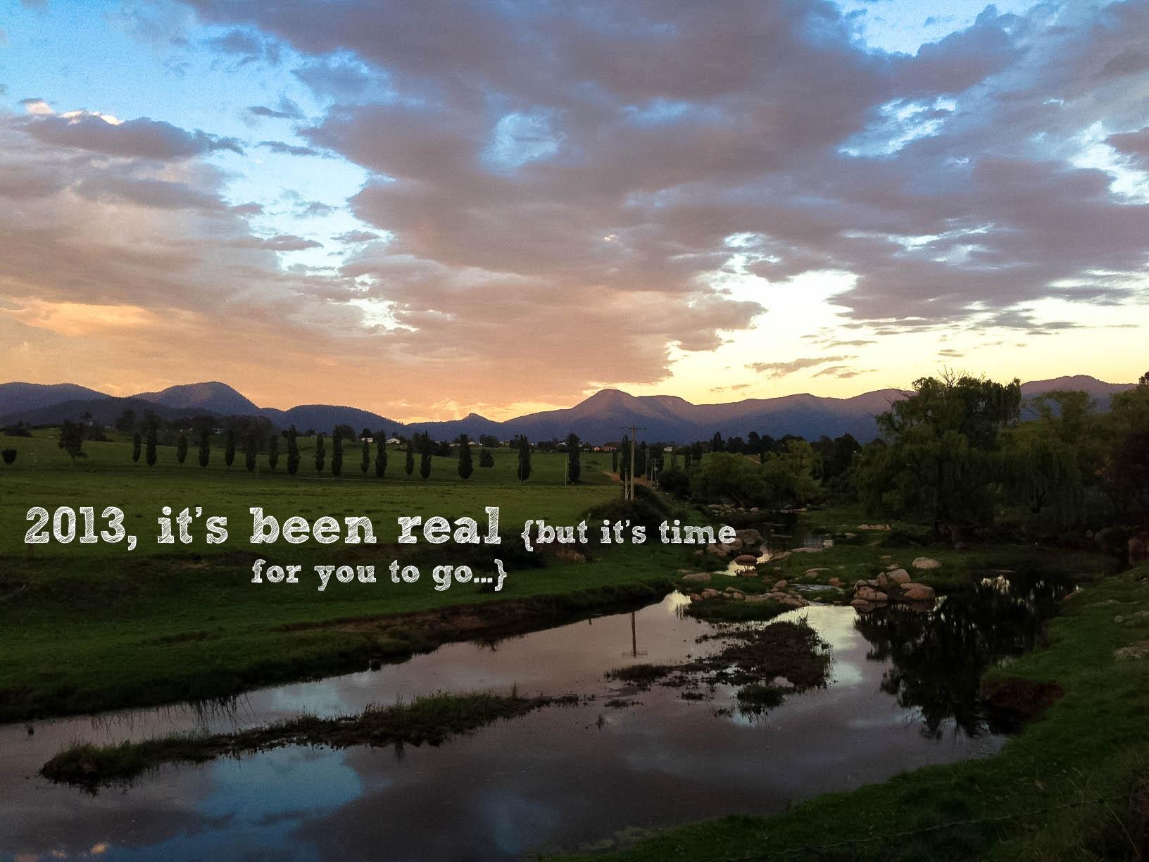 2013 it's been real || rebeccashann.com