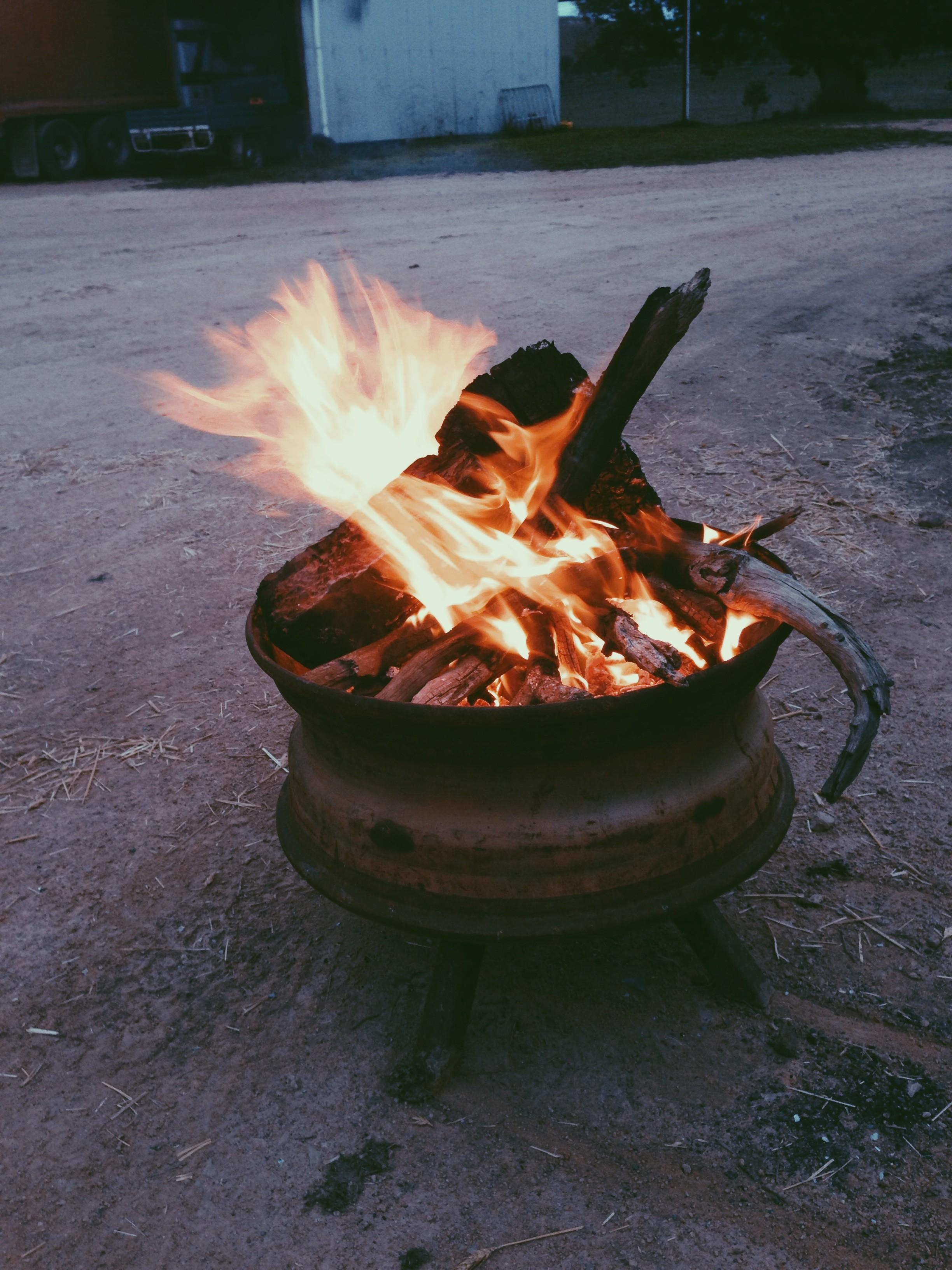 Drum Fire || thinkbiglivesimply.com
