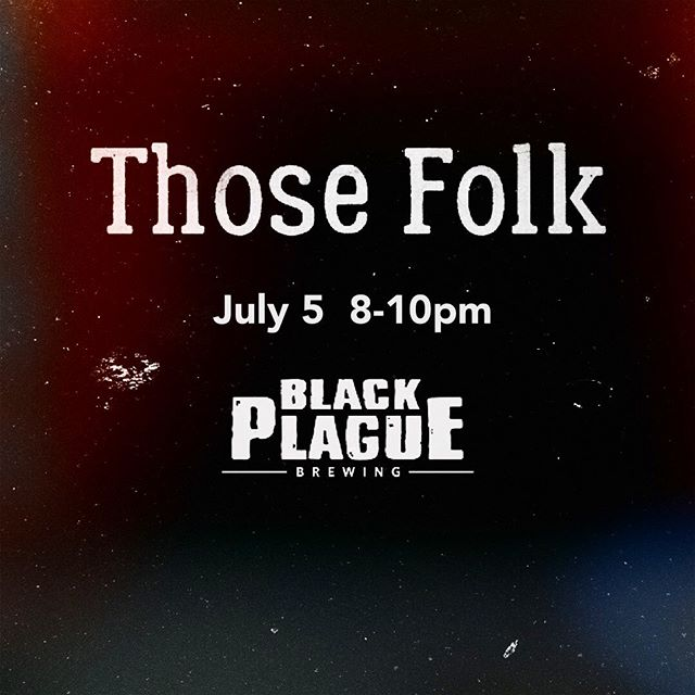 Oceanside gig tomorrow night! 8pm-10pm @blackplaguebrewing