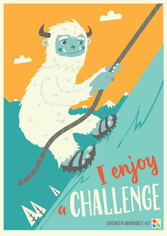 Growth Mindset_Enjoy a challenge
