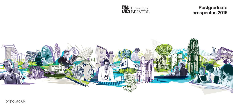 University of Bristol Postgraduate Prospectus Cover 2015