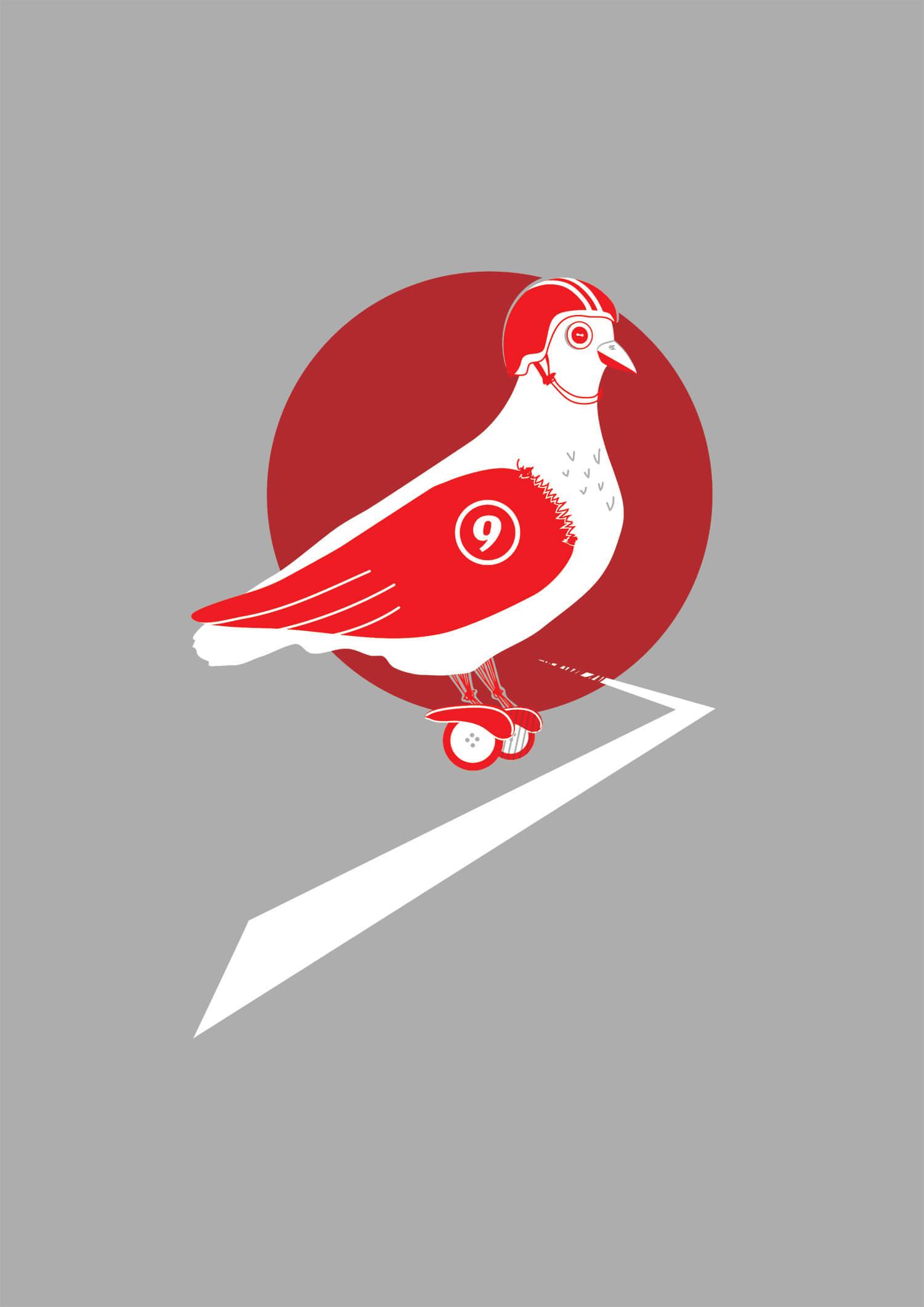 Racing Pigeon No 9