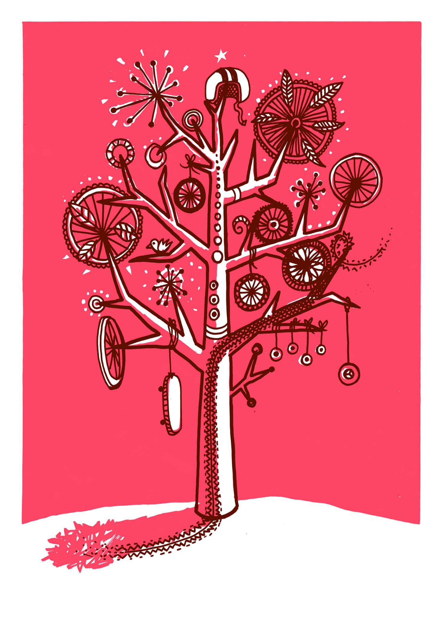 Wheelie Tree