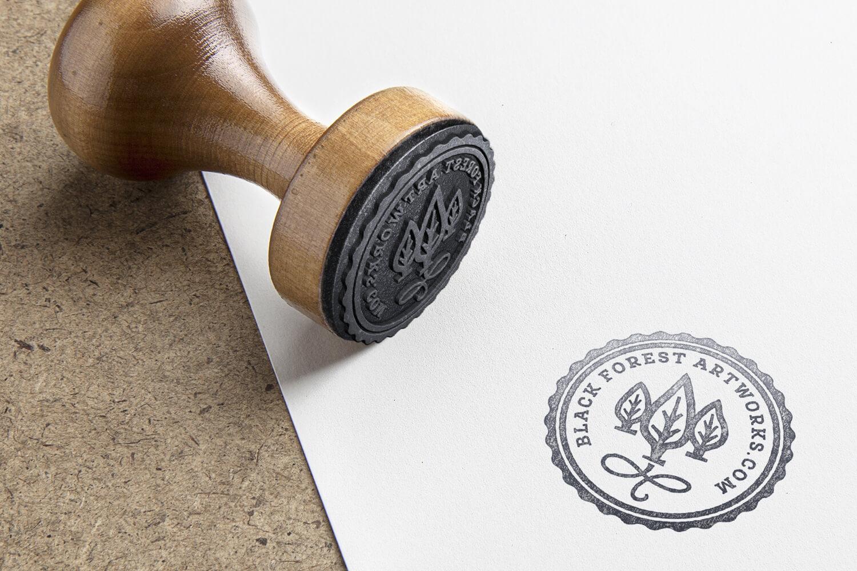 Black Forest ArtWorks - Rubber Stamp
