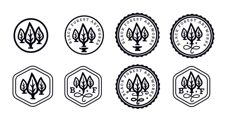 Development: Variation on the stamp design