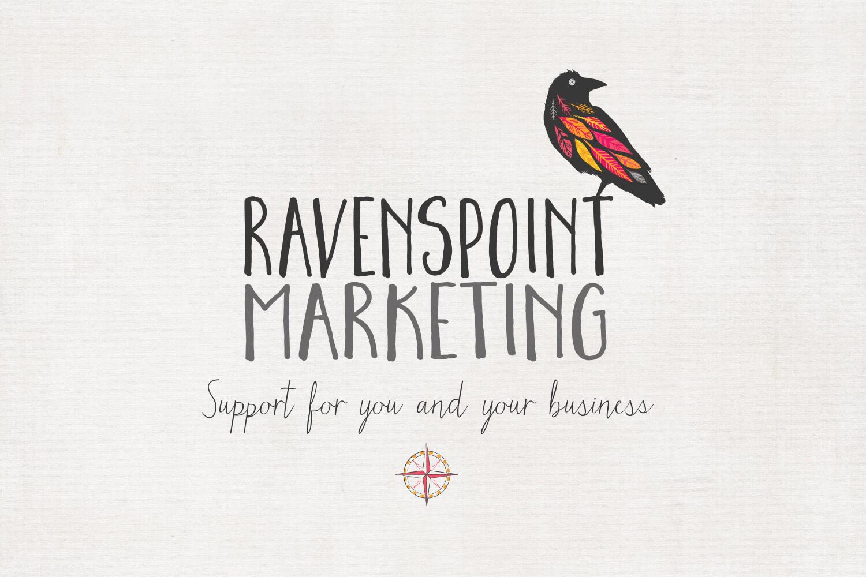 Ravenspoint Marketing Logo & Strapline