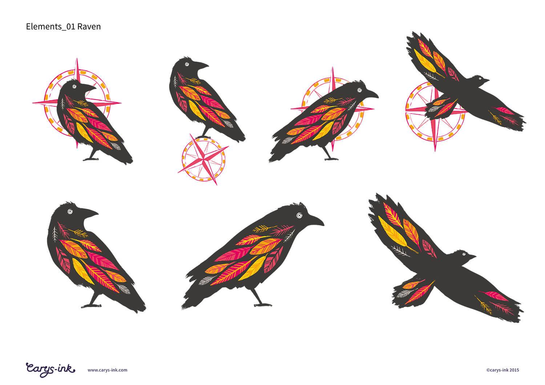 Ravenspoint Raven Brand Elements