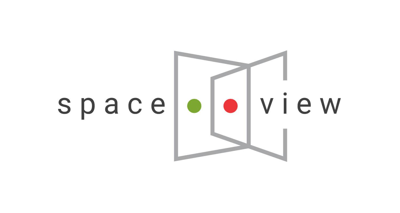 SpaceView - logo design