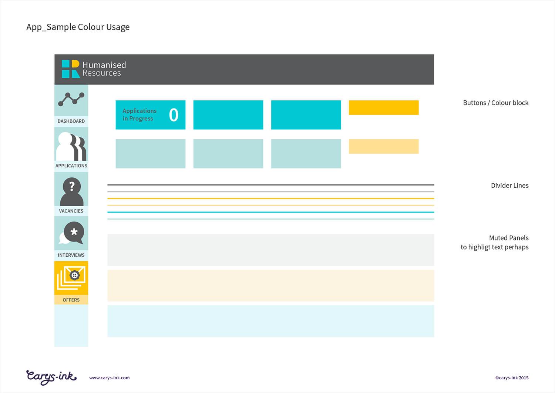 HR App design 02