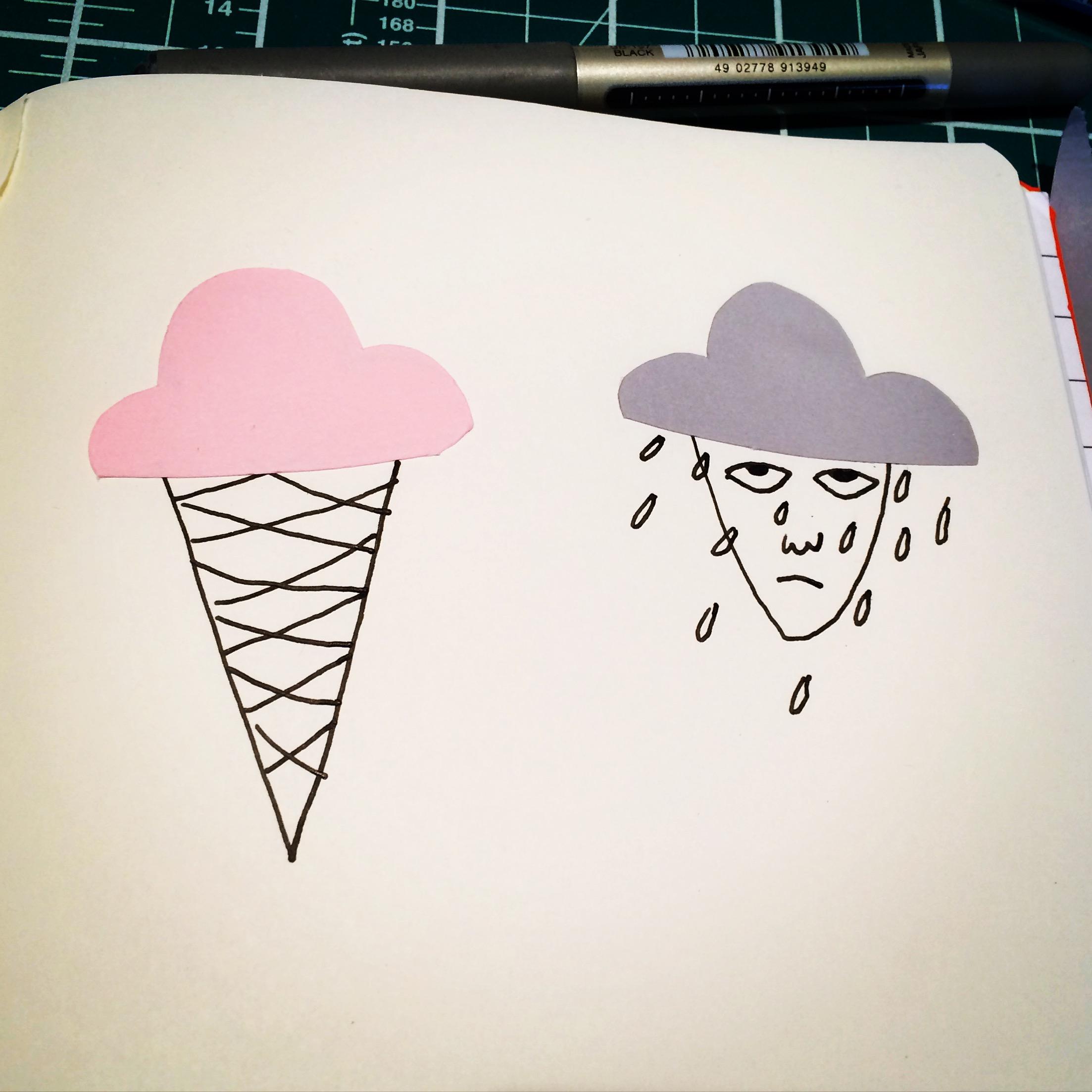 Pink Versus Grey