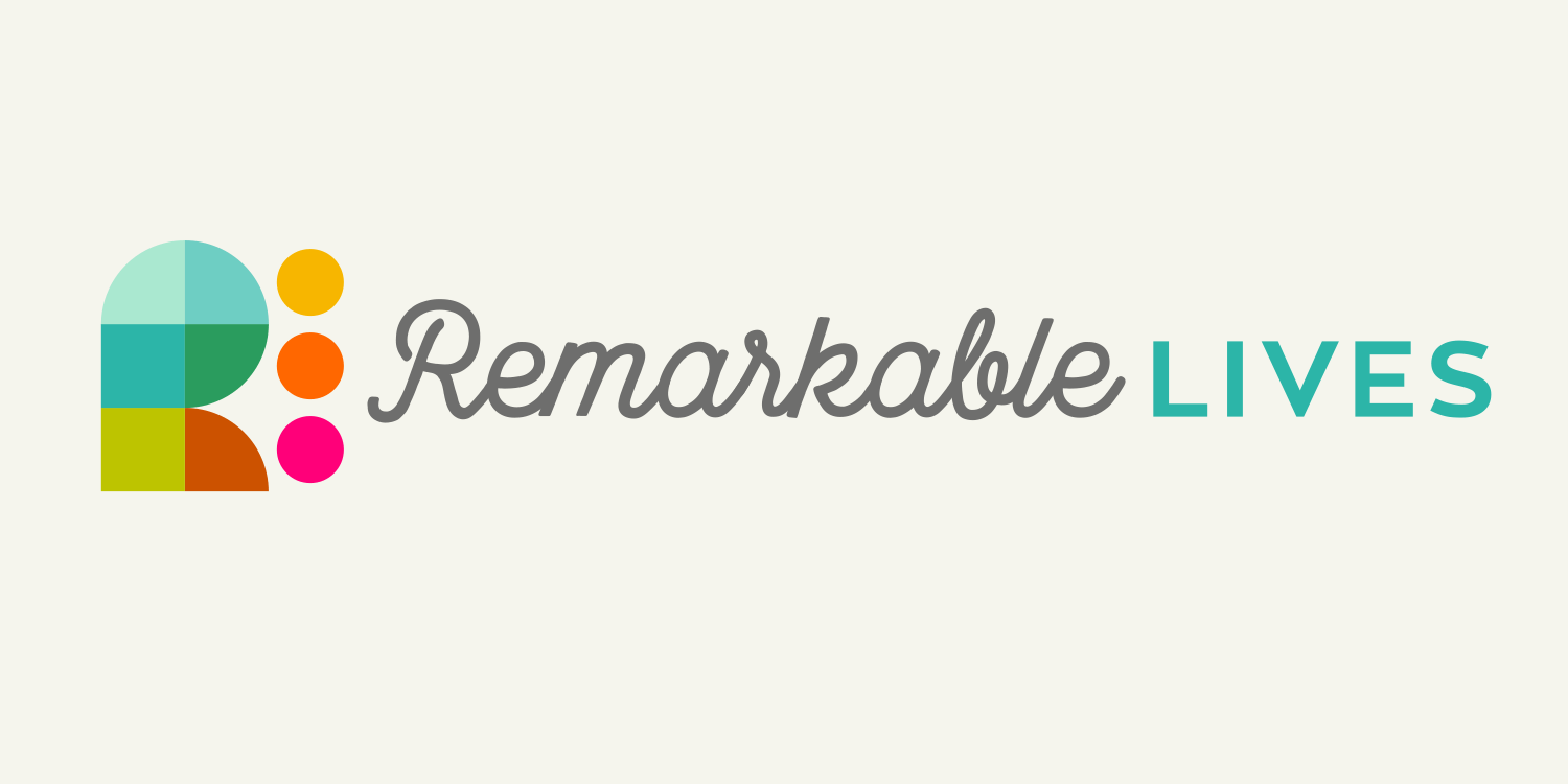 REMARKABLE LIVES | Brand Identity for a new social network to celebrate and share the life stories of older people
