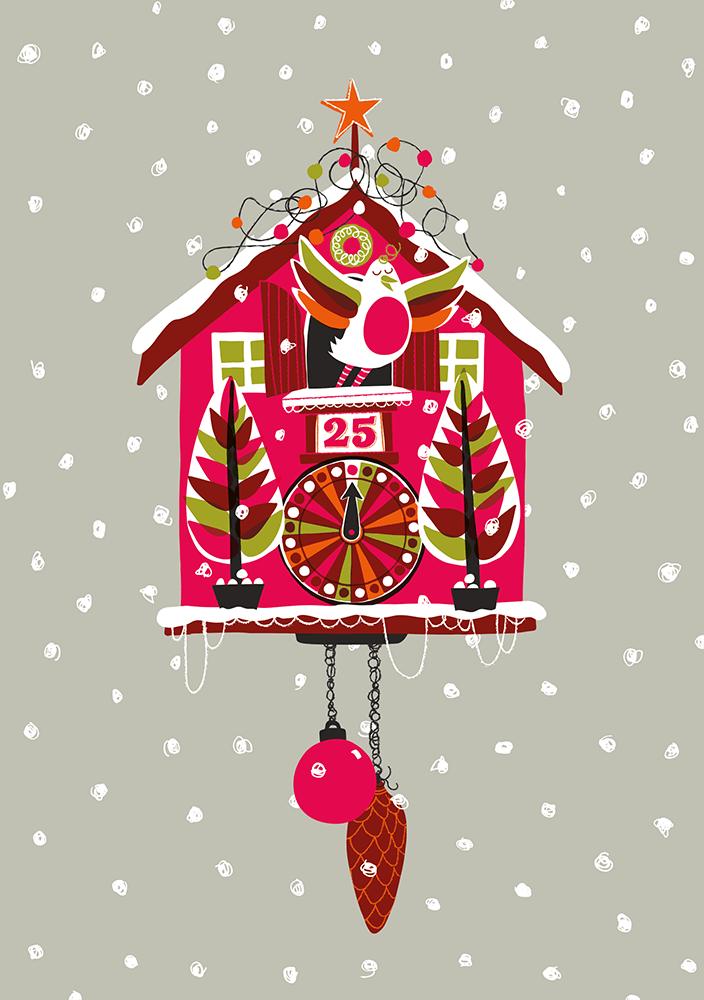 Christmas Cuckoo ©Carys-ink