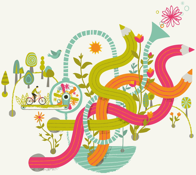 Carys-ink_Self-promotional Illustration