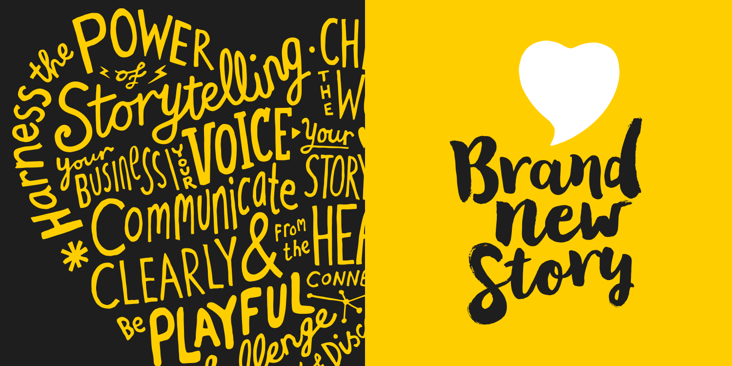 BRAND NEW STORY | Identity for a new brand storytelling and communications business