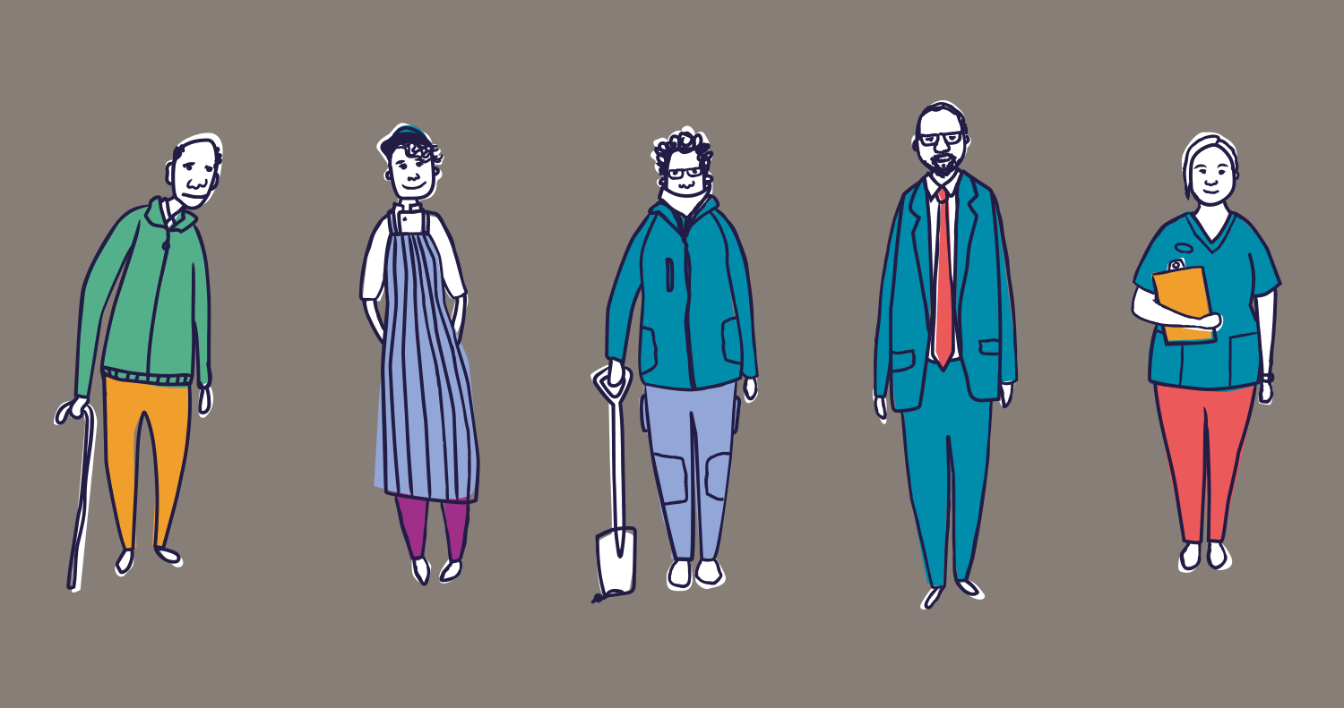 People illustrations_agreed style