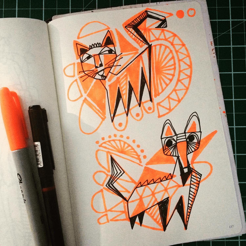 Doodle Catz