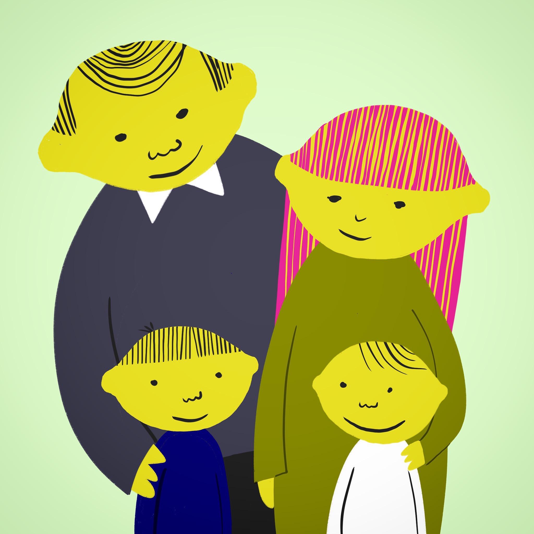 Lemonhead_Family©Carys_ink