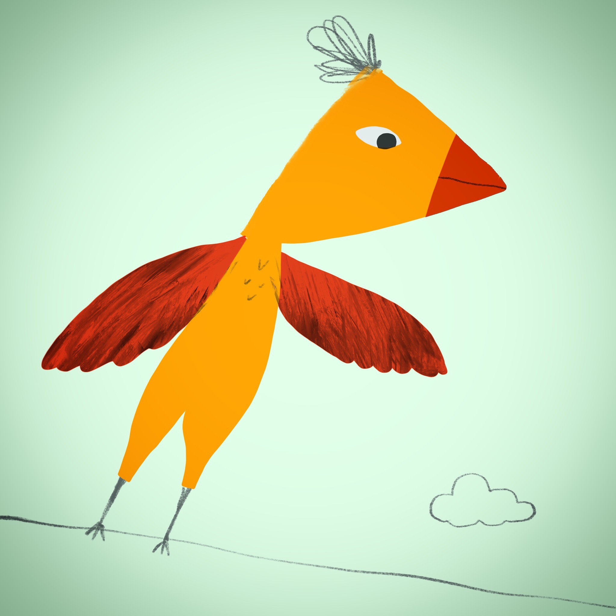 Edgy Bird