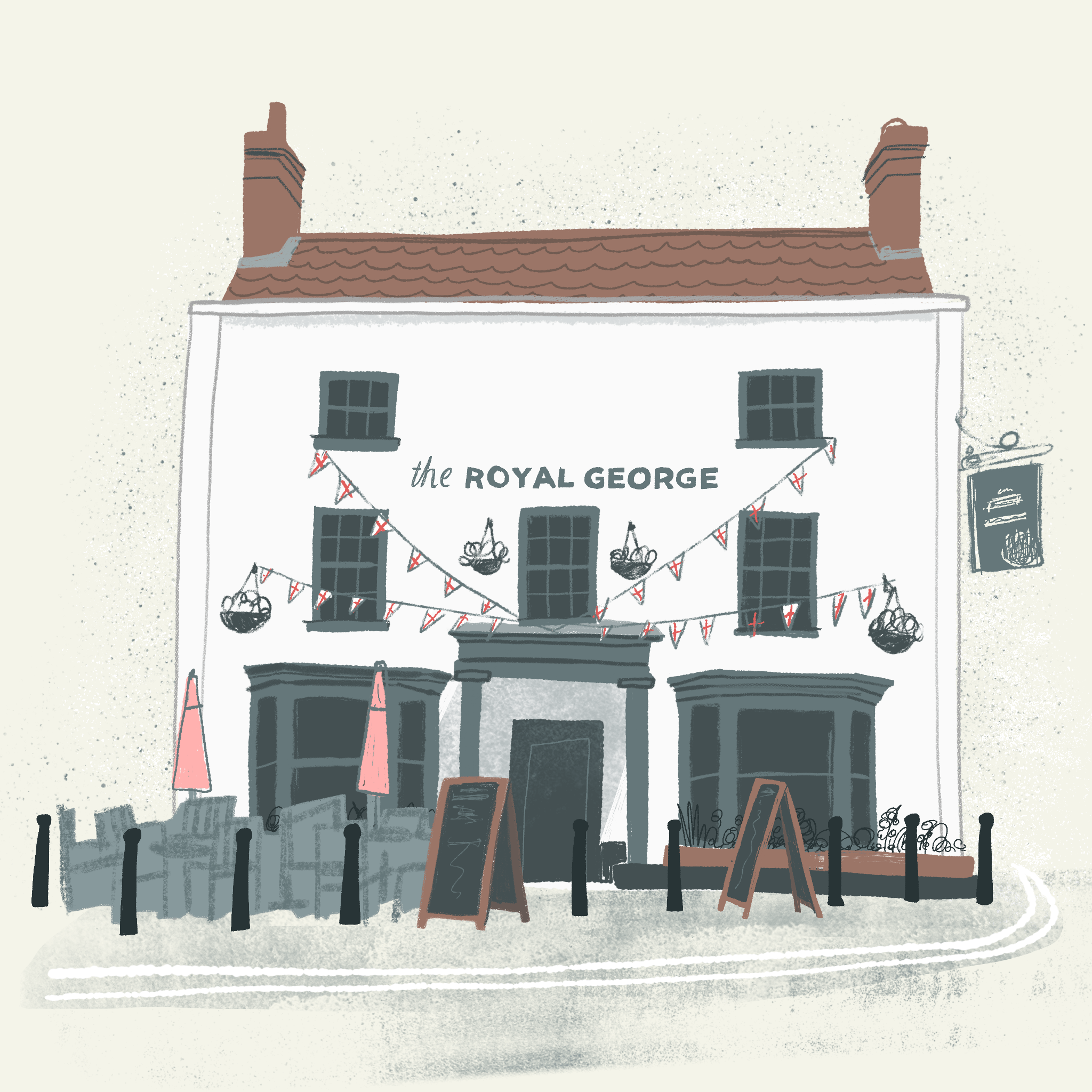 The Royal George, Thornbury @Carys-ink