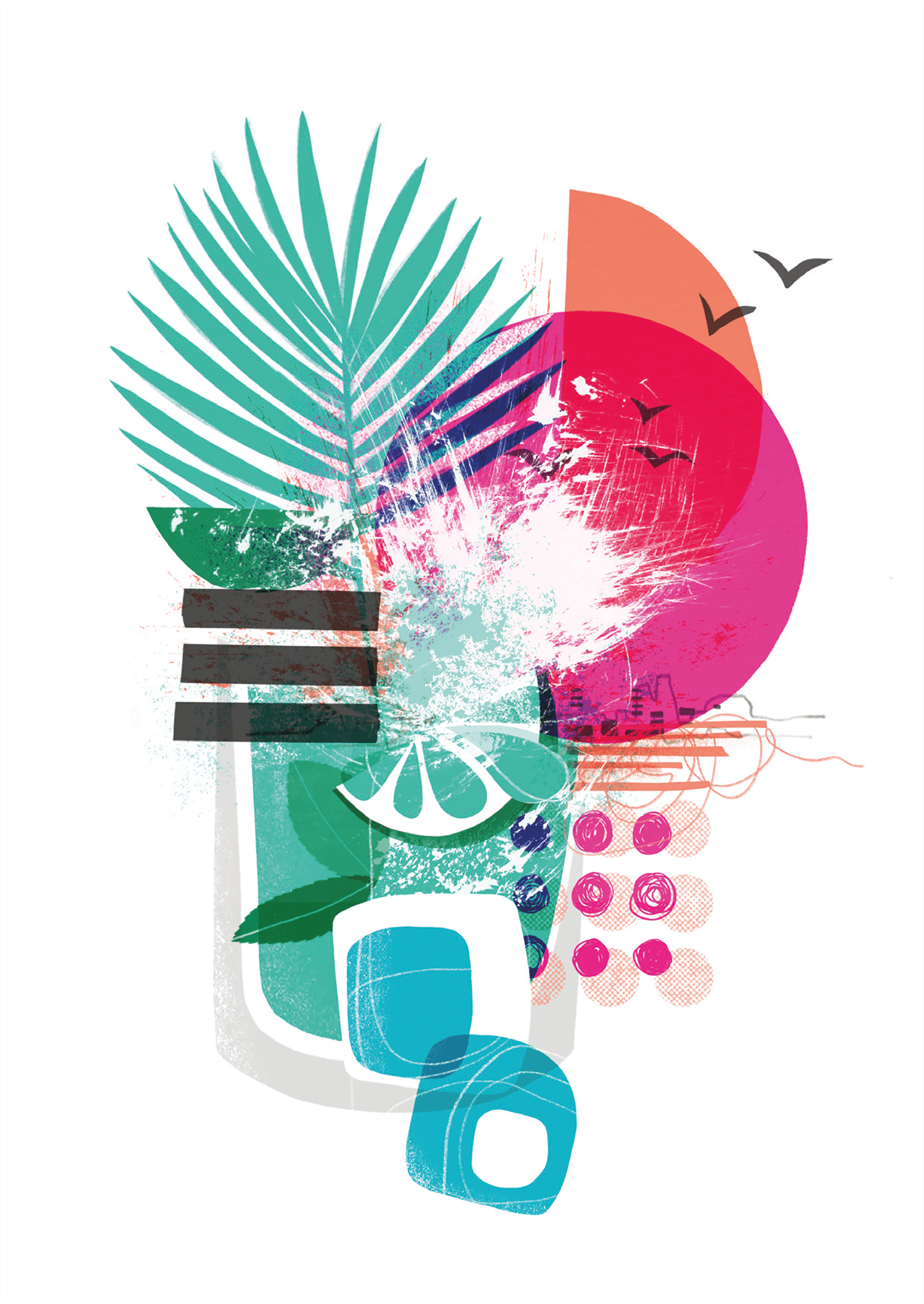 PLANNING VENTURES | Event invitation 'Summer Splash'