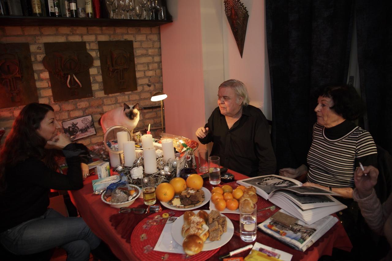 Belinda Sallin, Müggi III, HR Giger, Carmen Scheifele de Vega  December 2011 © Christian Schwarz