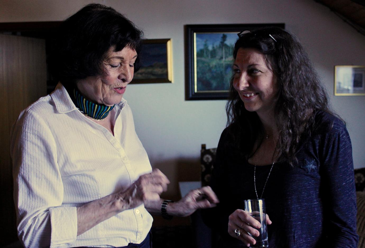 Carmen Scheifele de Vega und Belinda