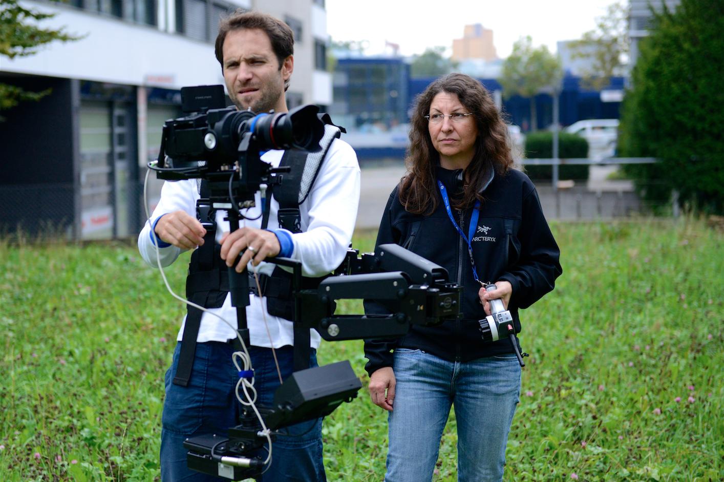 Roman Lehmann und Belinda Highspeed-Aufnahmen