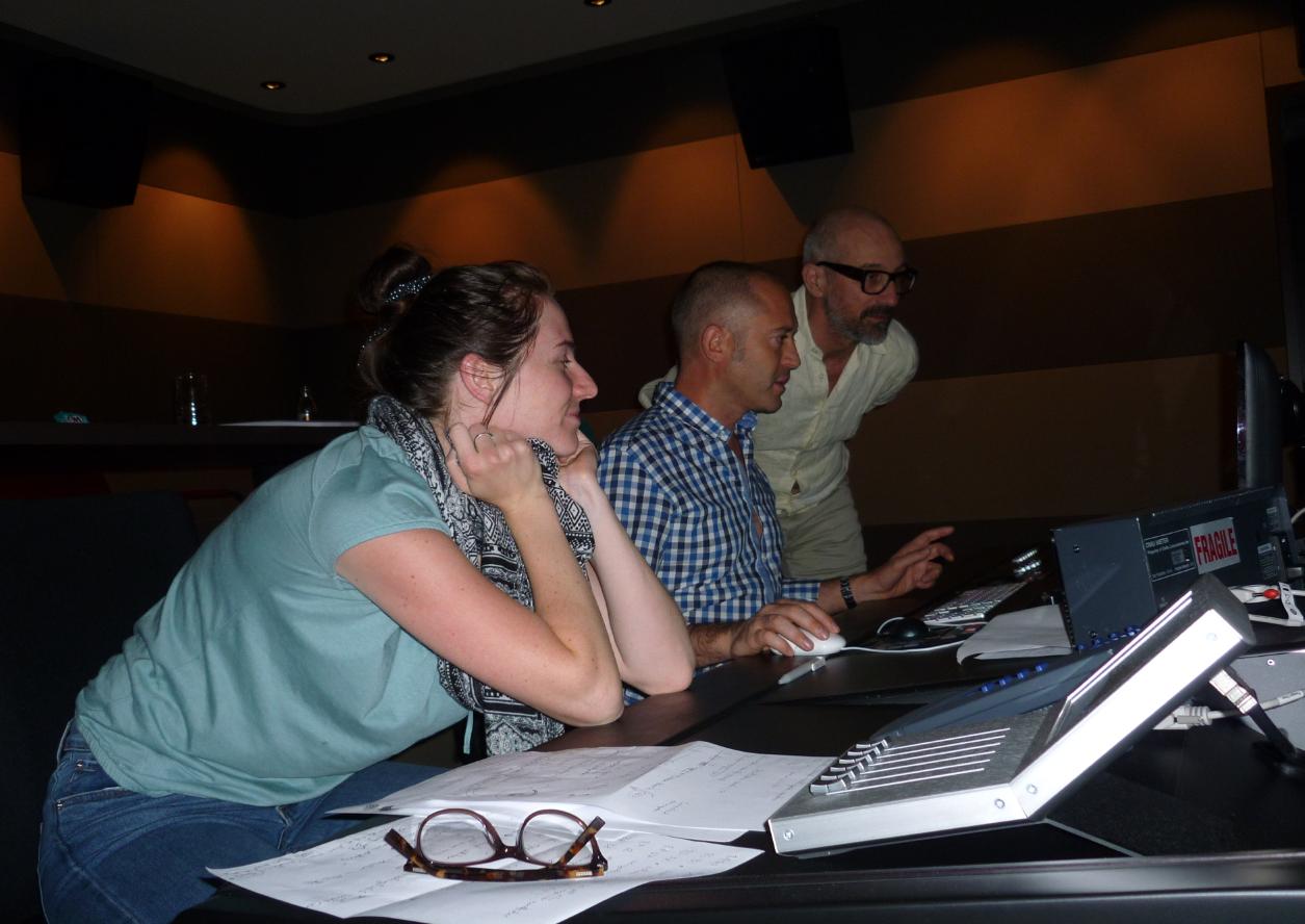Laura Endres, Tonschnitt; Renzo d'Alberto, Mischung; Peter Bräker, Sounddesign