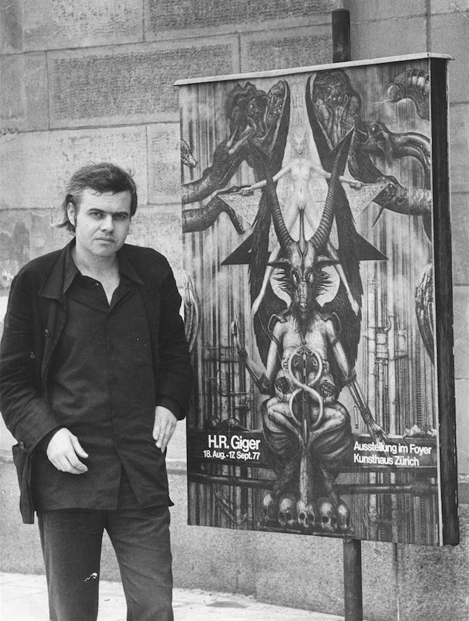 HRG vor dem Kunsthaus Zürich, 1977