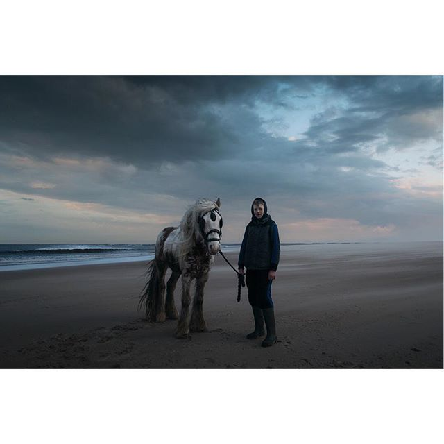 Druridge Bay, Northumberland  #portraitphotography#portrait#horse#landscape #beach#mood#nikon#nikond800#lovephotography#northumberland#atmosphere#explore