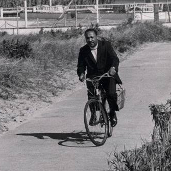 """""""Martin Luther King Seaview, Fire Island, NY. Sept. 2, 1967.""""  Photo: Stan Wolfson, Newsday"""