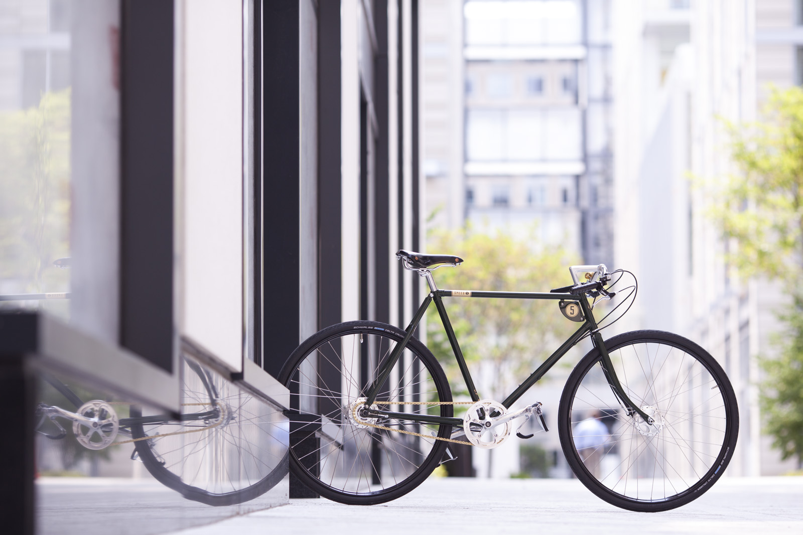 BicycleSPACE is the ex  clusive Washington-area dealer of classic Pashley Cycles, such as thisGuvnor model