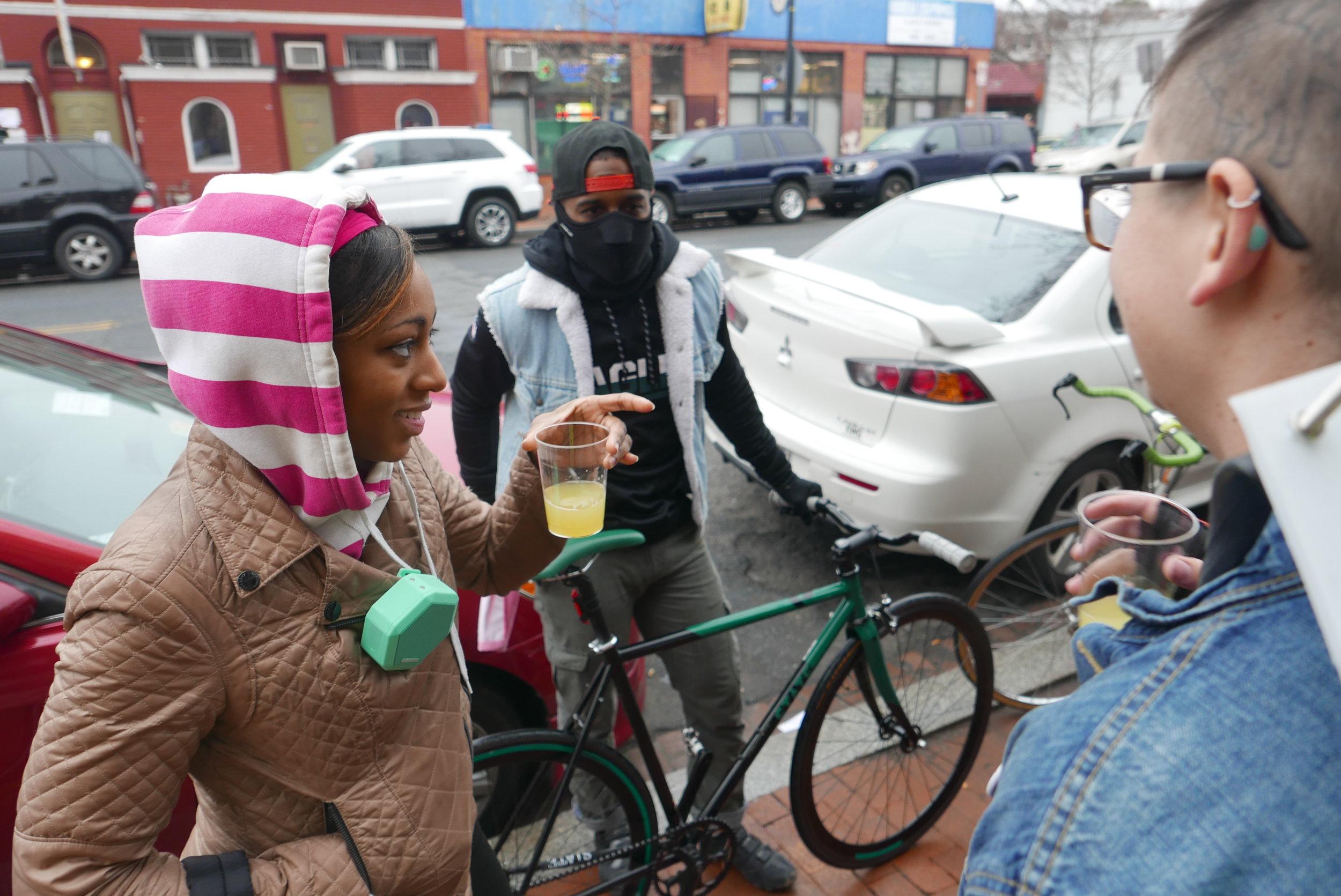 Ward 1 Ride breakfast