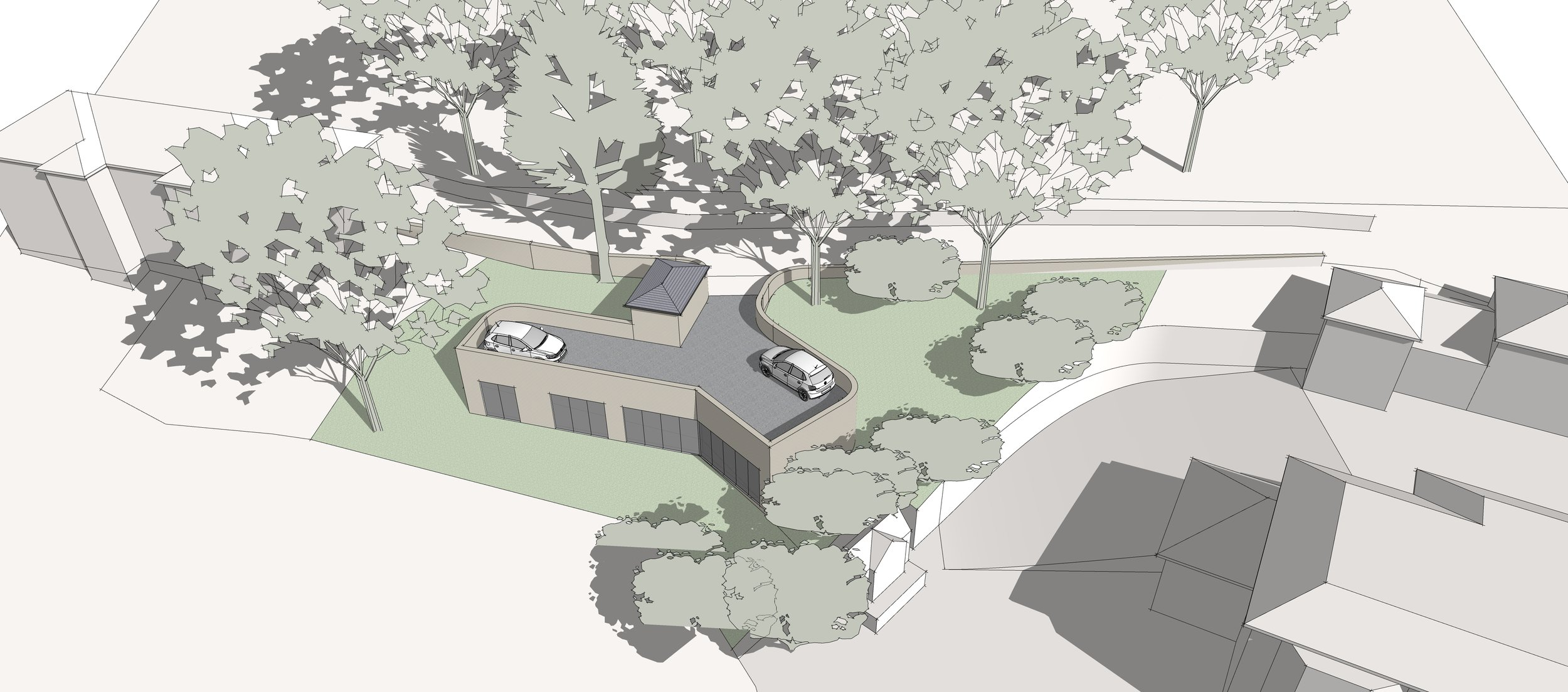 Feasibility Study for a New House on a Sloping Site in Matlock Bath