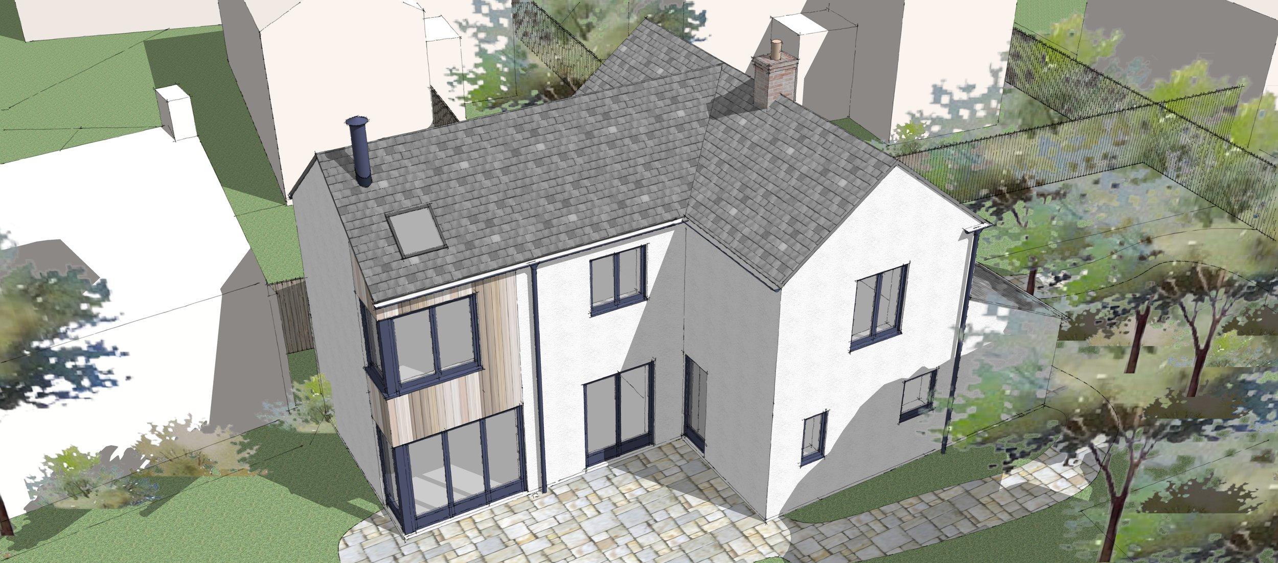 House Remodelling, Heage, Derbyshire