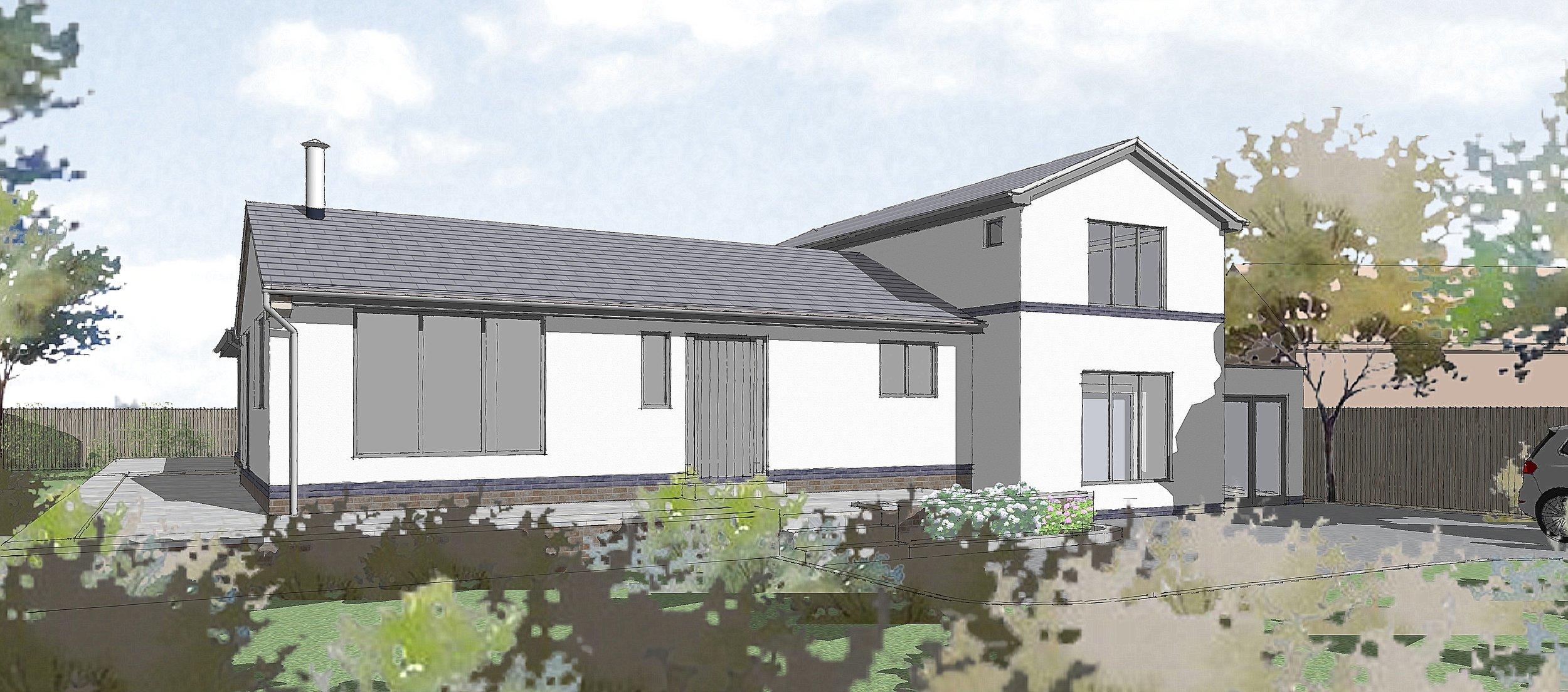 House Remodelling, Scropton, Derbyshire
