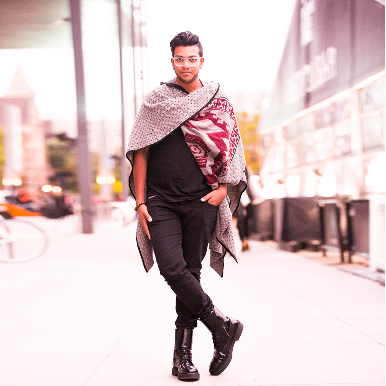 Wearing Balmain & ASOS. Photography by  Interlaced Media .