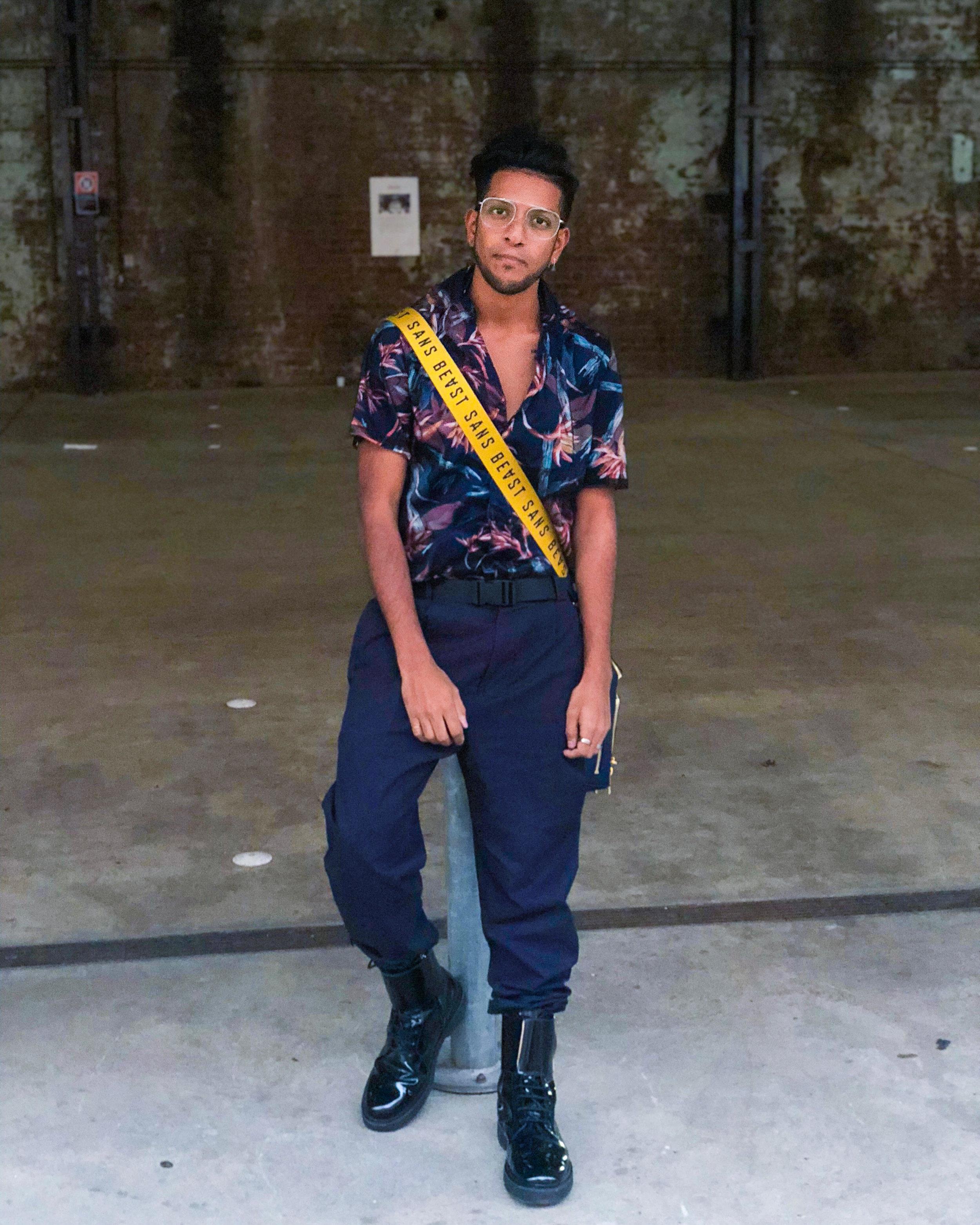 Wearing Louis Vuitton, Sans Beast, Cos, Balmain  Shot by Danny Woo at Mercedes Benz Fashion Week Australia
