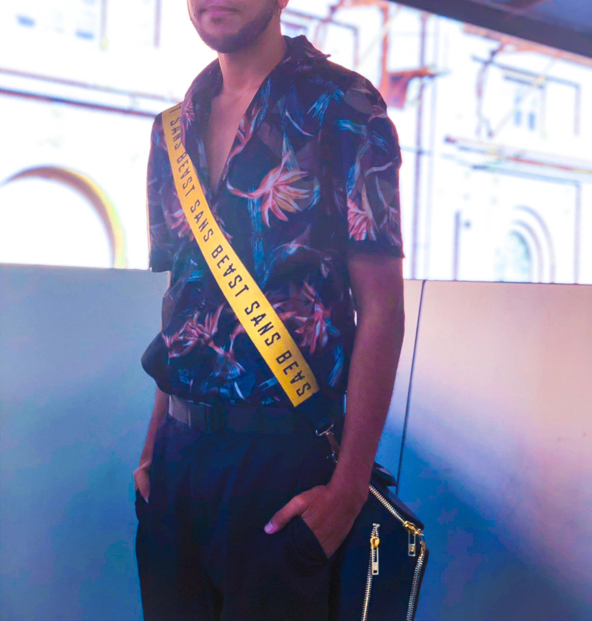 Louis Vuitton, Sans Beast Cos  Shot by Danny Woo for Mercedes Benz Fashion Week Australia