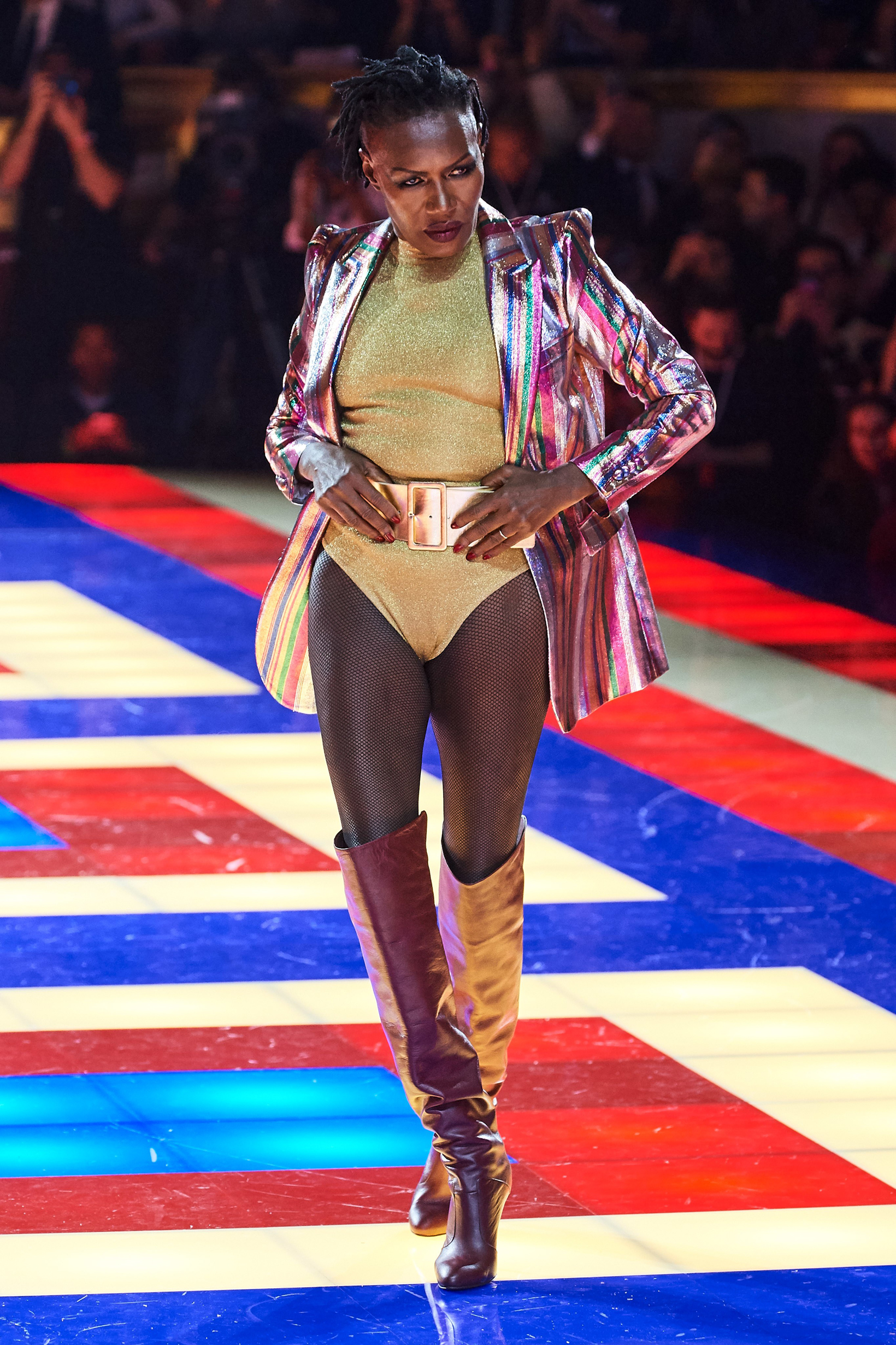 Grace Jones // Oberrauch/Dragone/GoRunway.com