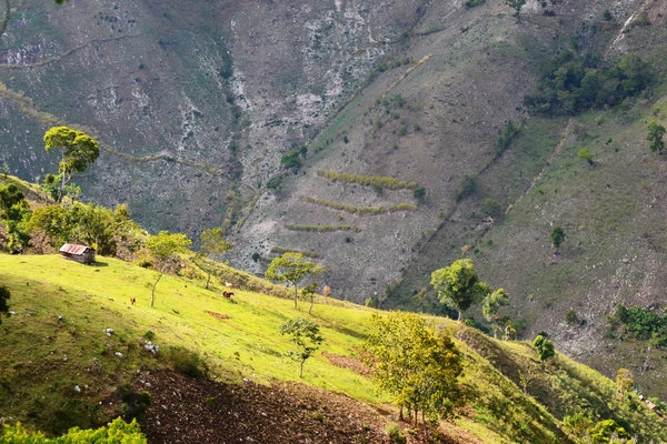 A view near the Dominican town of Sabana Real, close to the Haitian border.  AMADEO ESCARRAMÁN FOR THE NEW YORK TIMES