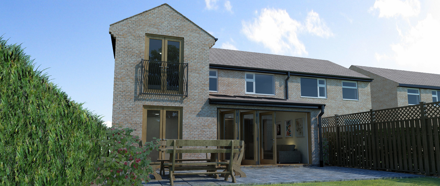 rear house extension..