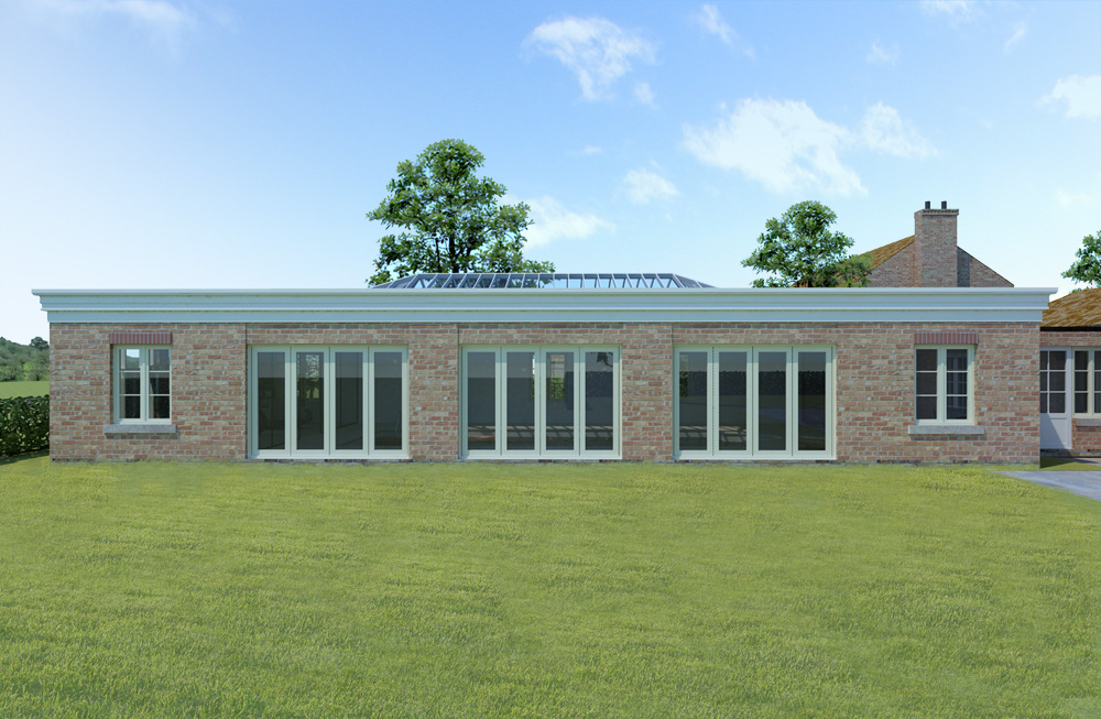new build swimming pool