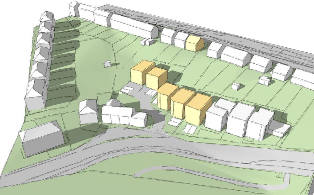 new build housing Sheffield..