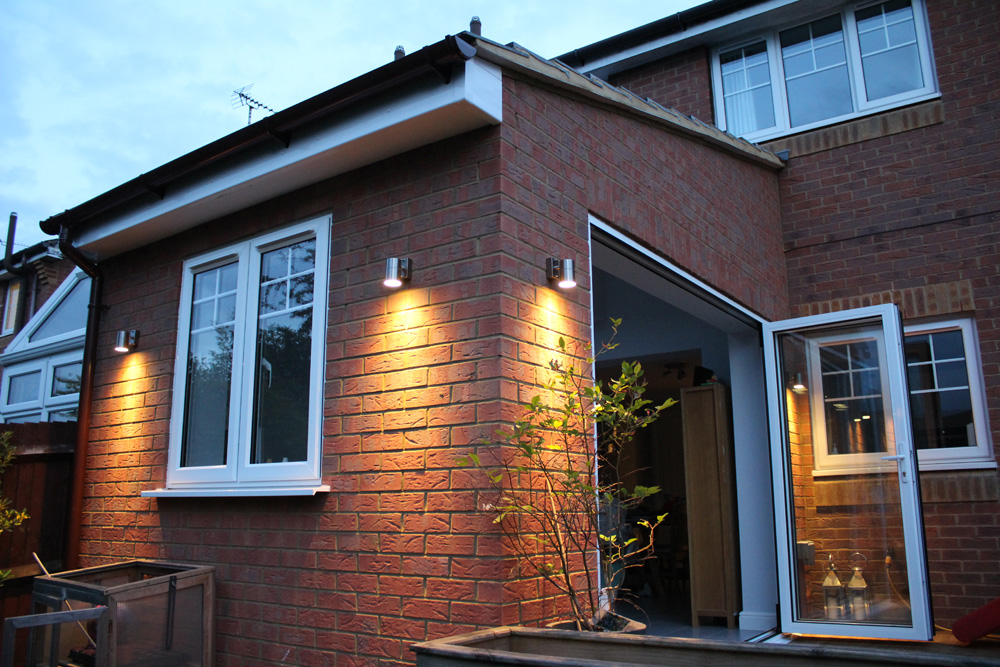 red brick extension