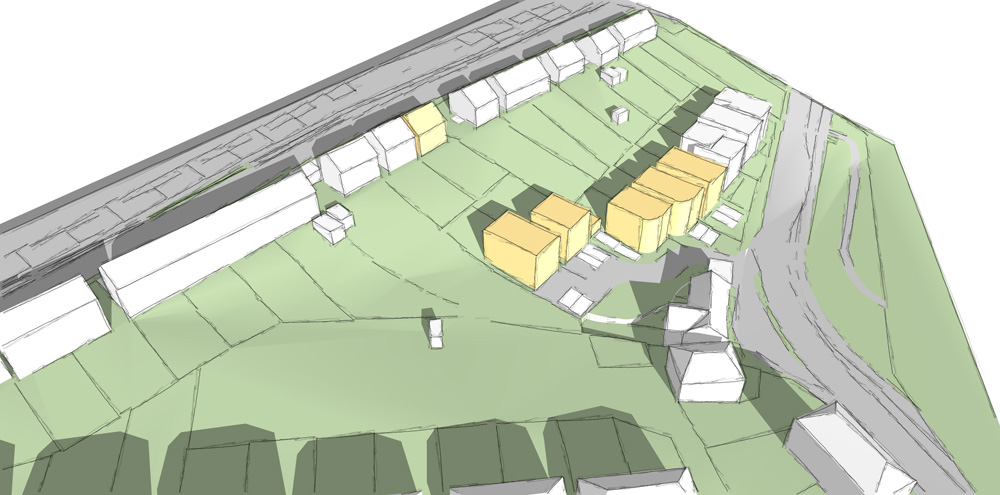 New build housing Sheffield
