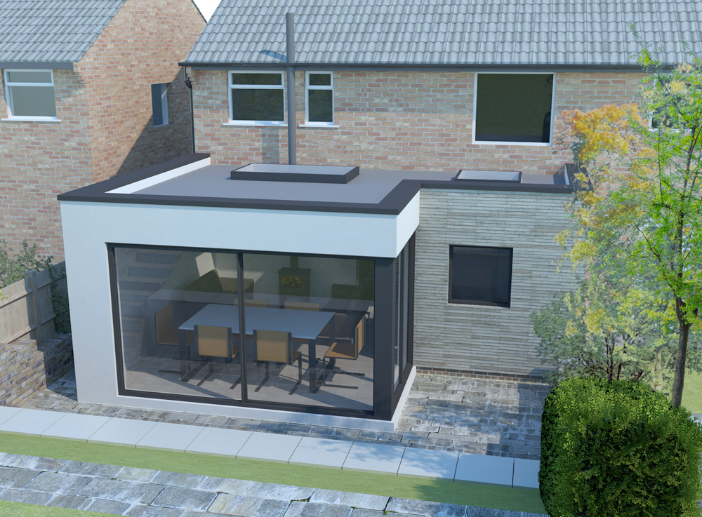 Sheffield contemporary extension