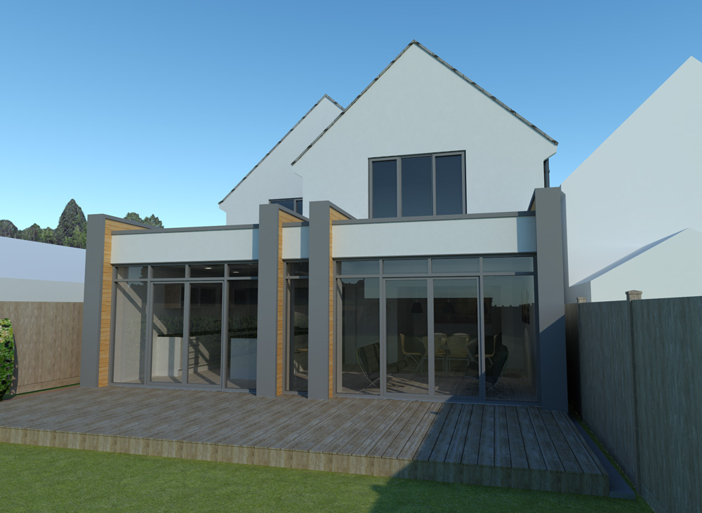 Dronfield house extension