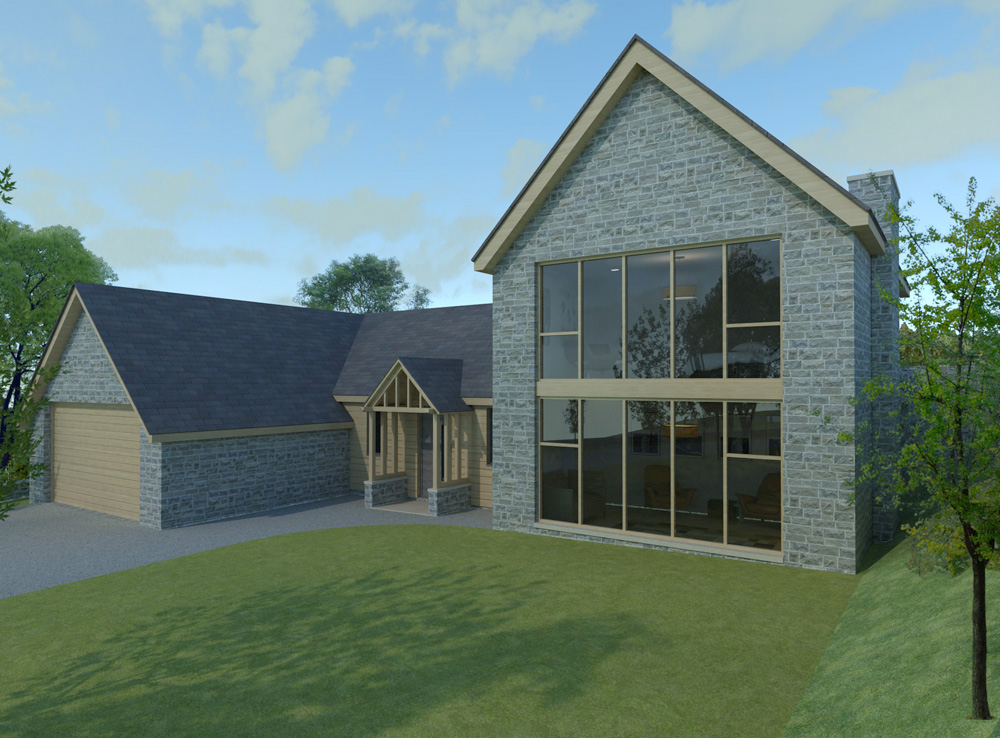 New build house in sheffield..