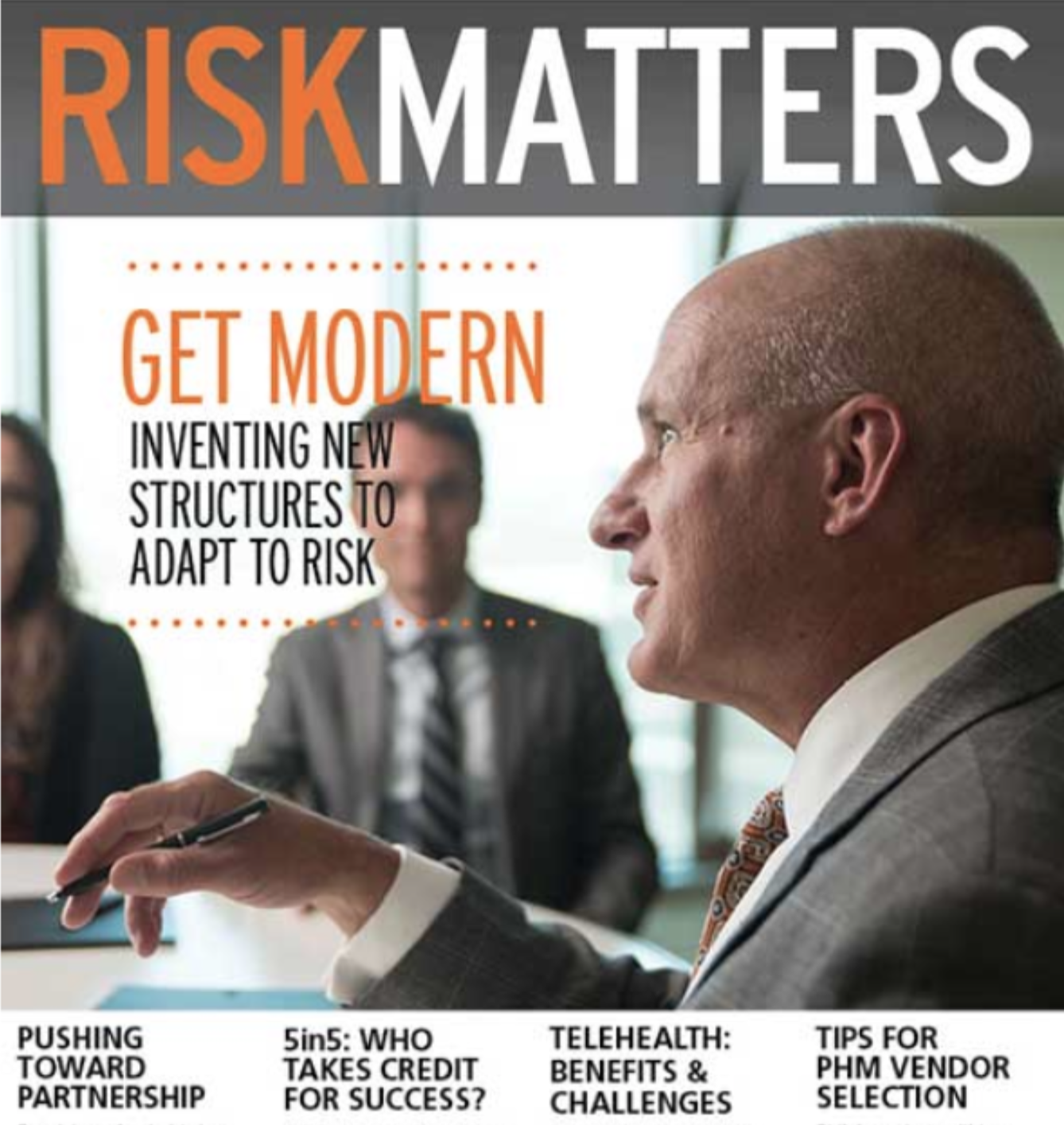 Finding the joy in accountability - Health reform worth doing takes new approaches to risk. To help physicians and other clinical leaders welcome the possibilities of ACO risk-sharing, an ad agency hired me to write this article for a trade publication.